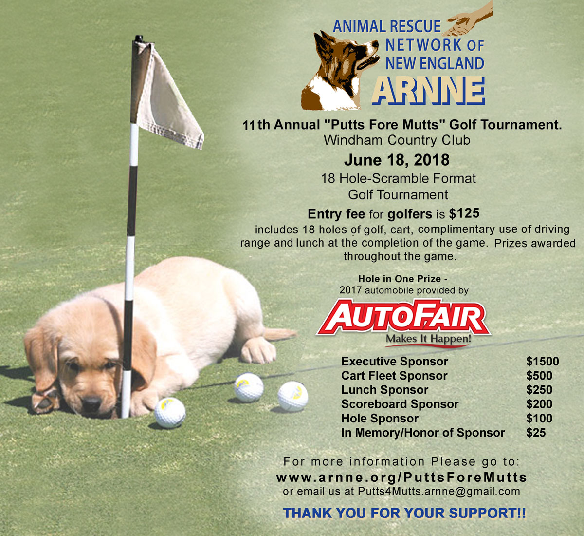 Putts Fore Mutts 2018