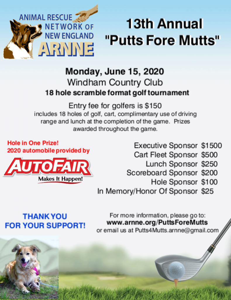 Putts Fore Mutts 2020